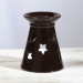 Porcelain Celestial Shadow-Cast Oil Warmer
